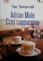 Okładka książki Adrian Mole. Czas cappuccino Sue Townsend