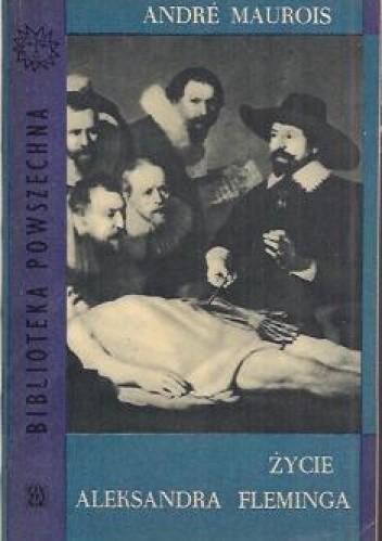 Okładka książki Życie Aleksandra Fleminga