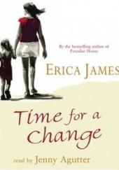 Okładka książki Time for a change Erica James