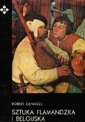 Okładka książki Sztuka flamandzka i belgijska Robert Genaille