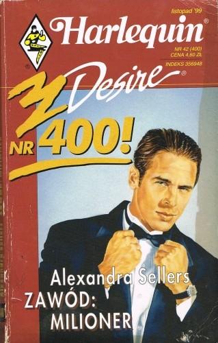 Okładka książki Zawód Milioner Alexandra Sellers