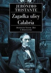Okładka książki Zagadka ulicy Calabria Jerónimo Tristante