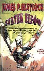 Okładka książki Statek elfów James P. Blaylock