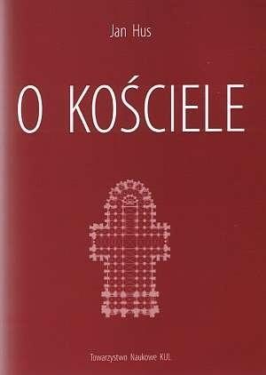 Okładka książki O Kościele Jan Hus