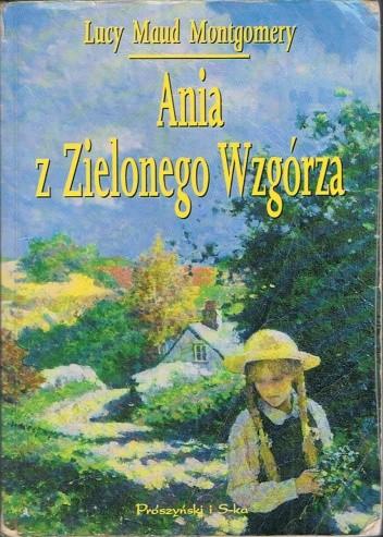 Okładka książki Ania z Zielonego Wzgórza Lucy Maud Montgomery