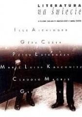 Okładka książki Literatura na świecie nr 2-3/2001 (355-356) Ilse Aichinger,Péter Esterházy,Claudio Magris,Géza Csáth,Redakcja pisma Literatura na Świecie