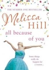 Okładka książki All Because of You Melissa Hill