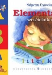 Okładka książki Elementarz sześciolatka. Literki Małgorzata Czyżowska