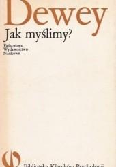 Okładka książki Jak myślimy? John Dewey