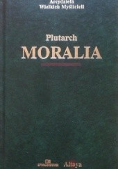 Okładka książki Moralia Plutarch