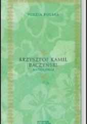 Okładka książki Antologia Krzysztof Kamil Baczyński