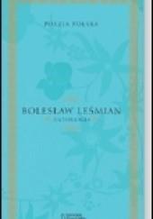 Okładka książki Antologia Bolesław Leśmian