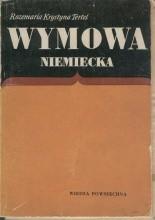 Okładka książki Wymowa niemiecka