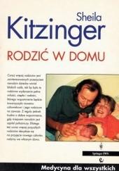Okładka książki Rodzić w domu Sheila Kitzinger