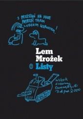 Okładka książki Listy 1956-1978 Stanisław Lem,Sławomir Mrożek