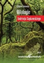 Okładka książki Mitologie Andrzeja Sapkowskiego Elżbieta Żukowska