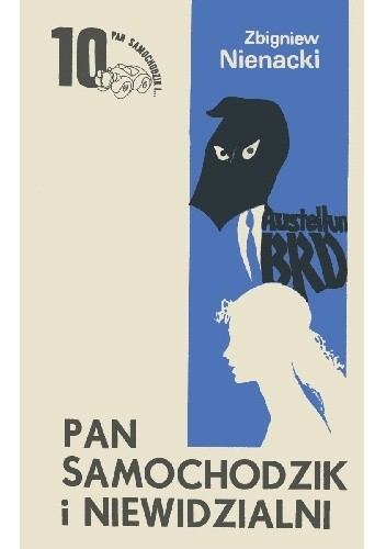 Okładka książki Pan Samochodzik i niewidzialni Zbigniew Nienacki