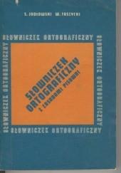 Okładka książki Słowniczek ortograficzny z zasadami pisowni Stanisław Jodłowski,Witold Taszycki