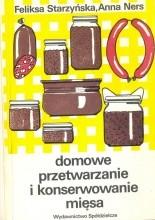 Okładka książki Domowe przetwarzanie i konserwowanie mięsa