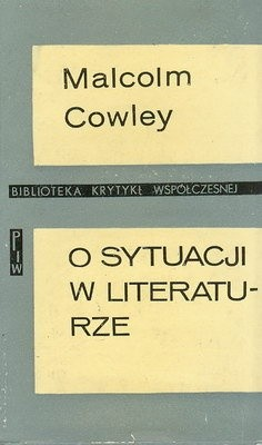Okładka książki O sytuacji w literaturze