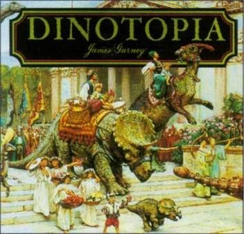 Okładka książki Dinotopia James Gurney