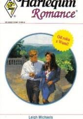 Okładka książki Zaręczyny na niby Leigh Michaels