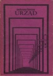 Okładka książki Urząd Tadeusz Breza