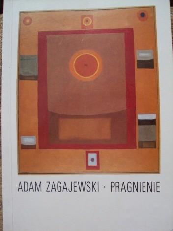 Okładka książki Pragnienie Adam Zagajewski