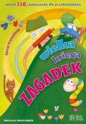 Okładka książki Wielka księga zagadek Marcin Przewoźniak