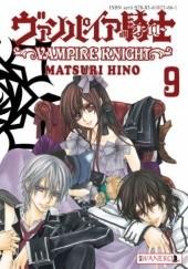 Okładka książki Vampire Knight tom 9 Hino Matsuri