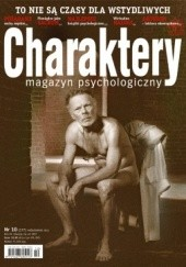 Okładka książki Charaktery 10 (177) / październik 2011 Redakcja miesięcznika Charaktery