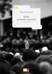 Okładka książki Polski rachunek sumienia z Jana Pawła II Zbigniew Nosowski
