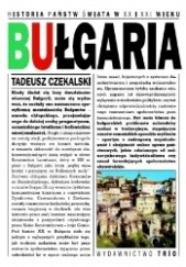 Okładka książki Bułgaria Tadeusz Czekalski