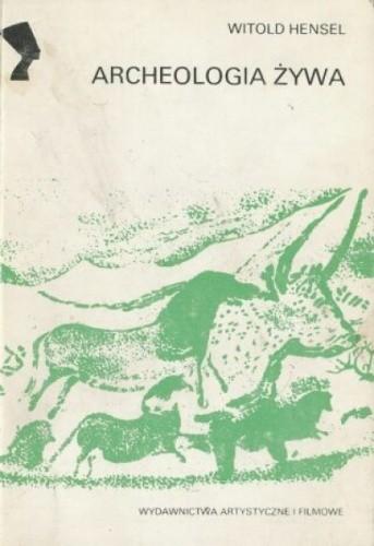 Okładka książki Archeologia żywa