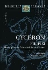 Okładka książki Filipiki. Mowy przeciw Markowi Antoniuszowi.