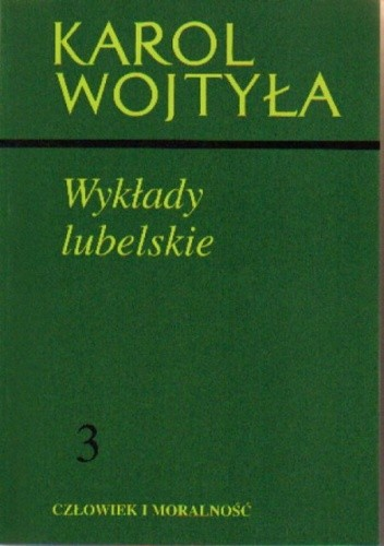 Okładka książki Wykłady lubelskie Karol Wojtyła