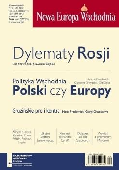 Okładka książki Nowa Europa Wschodnia 5/2010 Andrzej Brzeziecki,Redakcja Nowa Europa Wschodnia