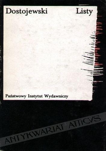 Okładka książki Listy Fiodor Dostojewski