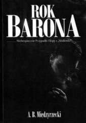 Okładka książki Rok Barona Artur Międzyrzecki