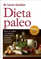 Okładka książki Dieta paleo Loren Cordain