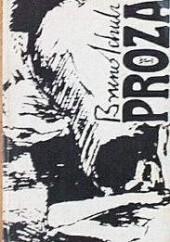 Okładka książki Proza Bruno Schulz