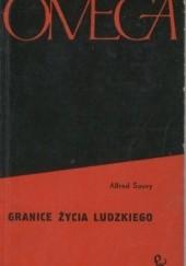 Okładka książki Granice życia ludzkiego Alfred Sauvy