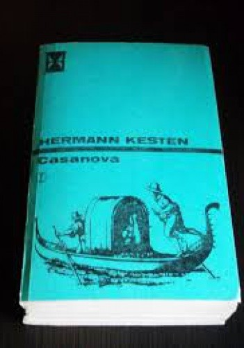 Okładka książki Casanova Hermann Kesten