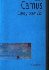 Okładka książki Cztery powieści. Obcy. Dżuma. Upadek Pierwszy człowiek Albert Camus