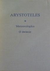 Okładka książki Meteorologika; O świecie Arystoteles