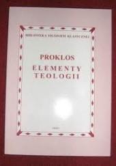 Okładka książki Elementy teologii. Proklos