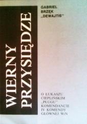 Okładka książki Wierny przysiędze Gabriel Brzęk