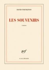 Okładka książki Les Souvenirs David Foenkinos