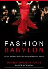 Okładka książki Fashion Babylon Imogen Edwards-Jones