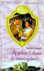 Okładka książki Kapitan i dama do towarzystwa Nicola Cornick